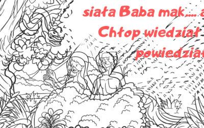 #24 Siała Baba mak… – rzecz o pierwszych ludziach 📢